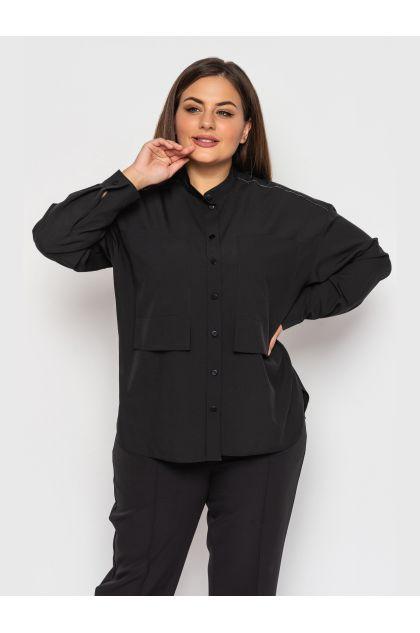 """Блуза """"Синобия"""" (черный)"""