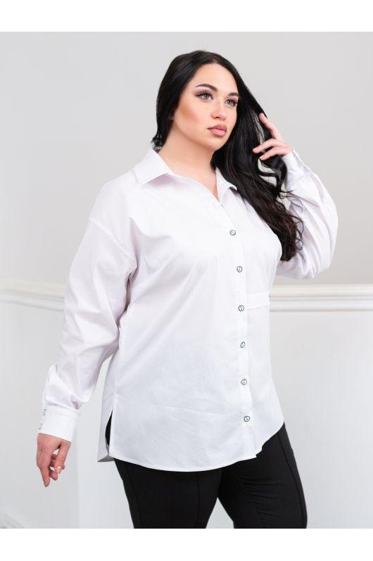 """Рубашка """"Ада"""" (белый)"""