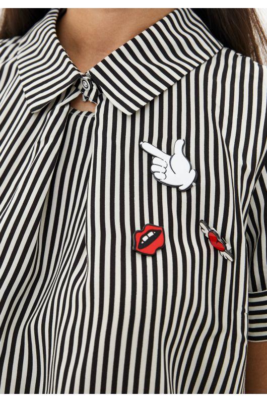 """Рубашка """"Фабьен"""" (полоска)"""
