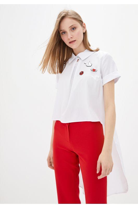 "Рубашка ""Фабьен"" (белый)"