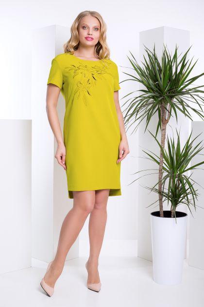 """Платье """"Лея"""" (оливковый)"""