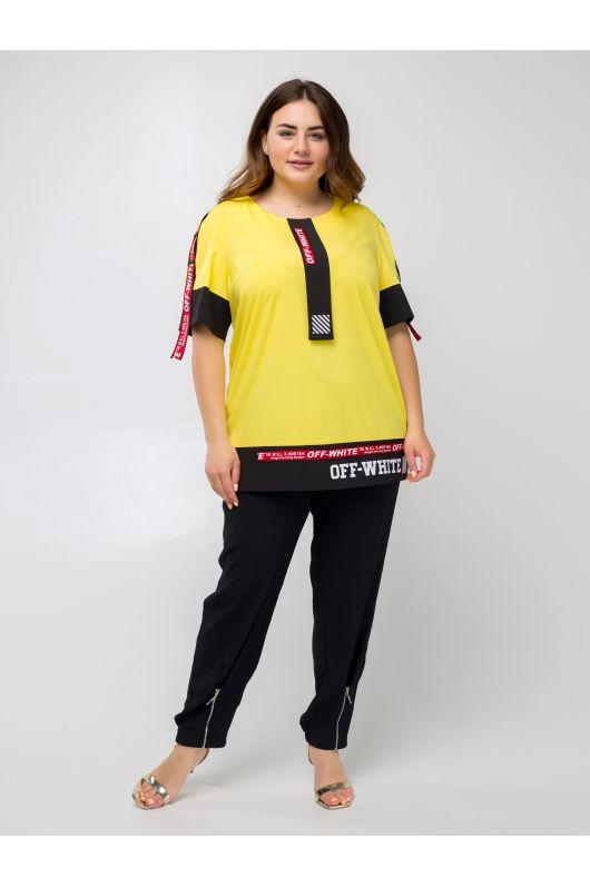 """Блуза """"Аламоса"""" (желтый)"""
