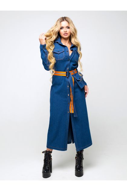 "Платье ""Дэнна"" (темно-синий)"