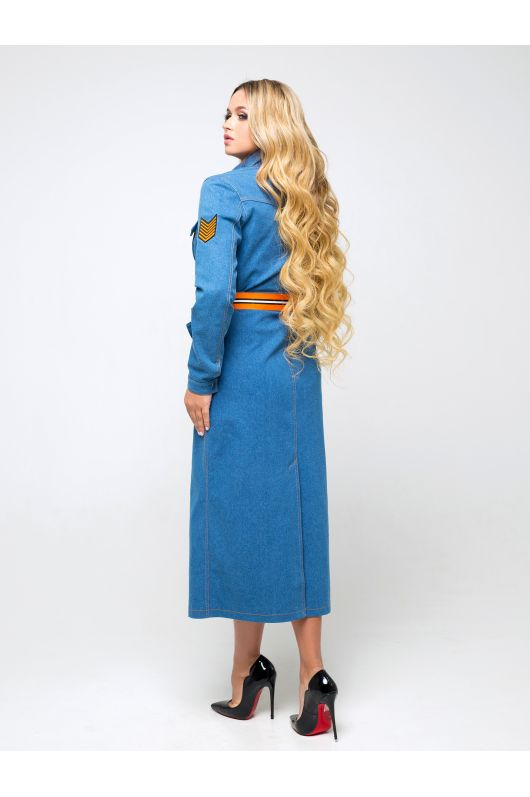 """Платье """"Дэнна"""" (голубой)"""