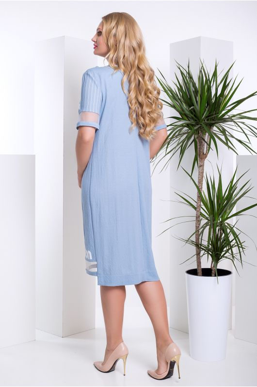 "Платье ""Саванна"" (голубой)"