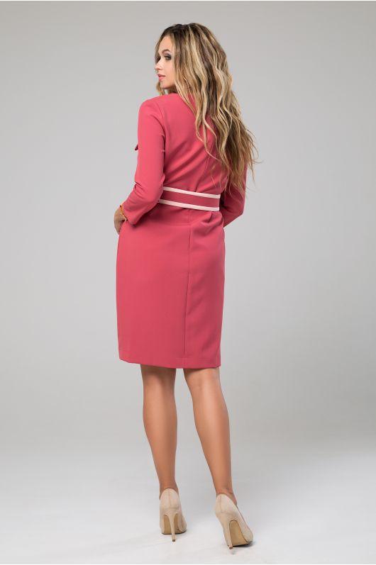 """Платье """"Франциска"""" (бордово-розовый)"""