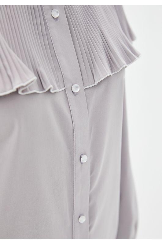 "Блуза ""Либерти"" (серый)"