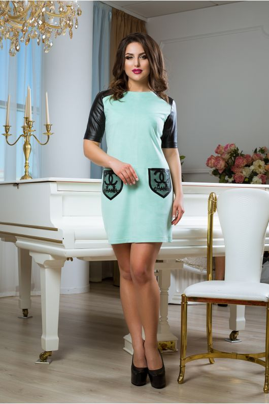 """Платье """"Влади"""" (мятный)"""