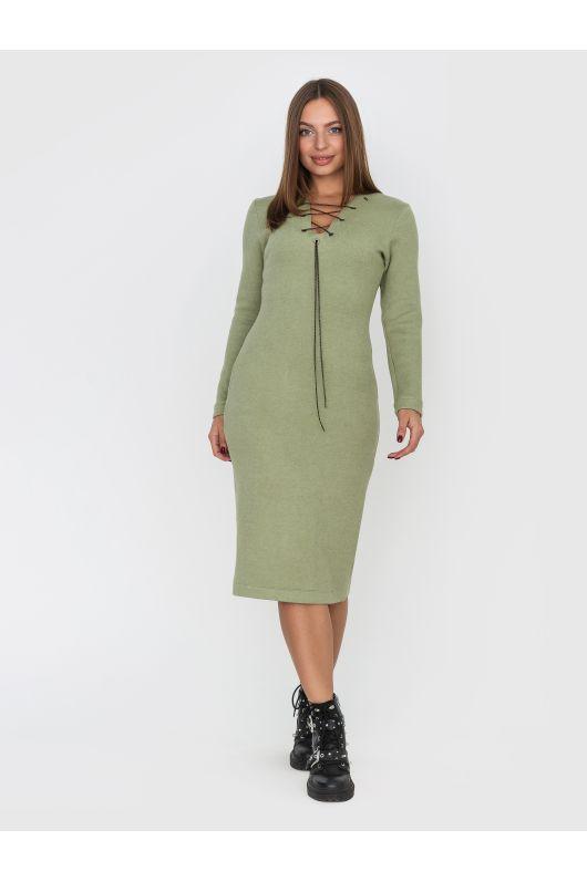 """Платье """"Мирабель"""" (оливковый)"""