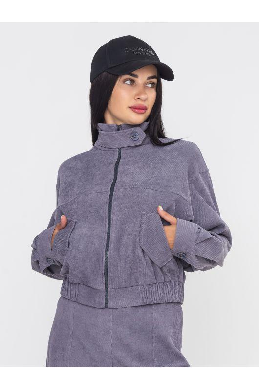 """Куртка """"Верано"""" (серый)"""