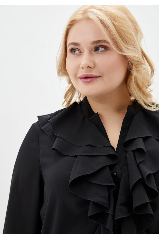 """Блуза """"Фаина"""" (черный)"""