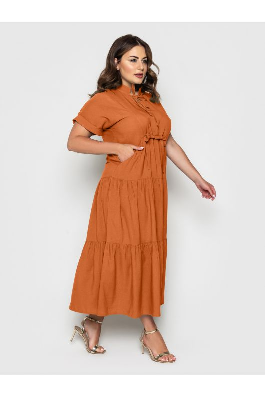 """Платье """"Пилея"""" (коричневый)"""