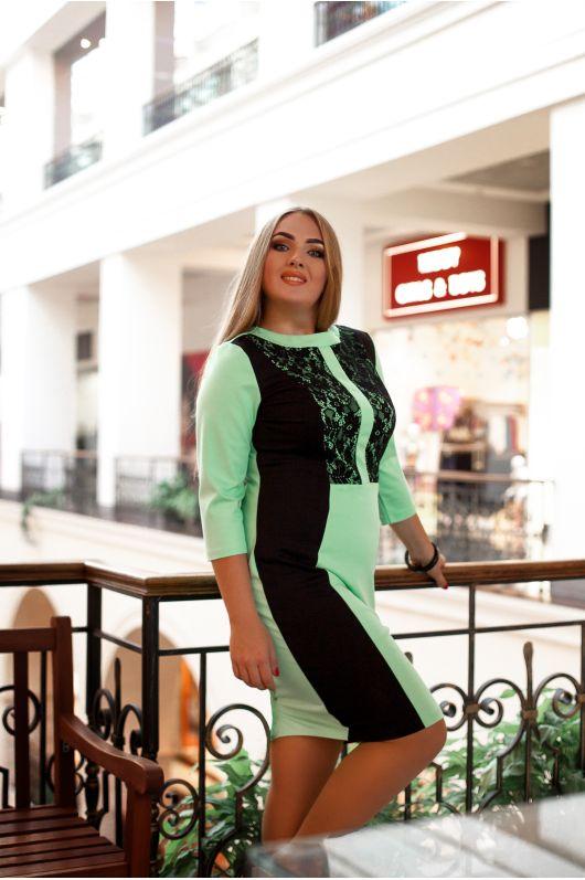"""Платье """"Саваж"""" (зеленый)"""