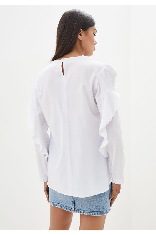 "Блуза ""Феличита"" (белый)"