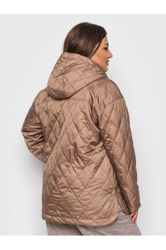 """Куртка """"Имара"""" (светло-коричневый)"""