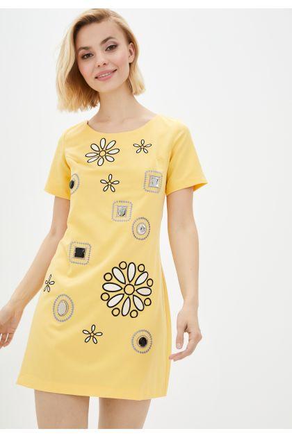 """Платье """"Соланж"""" (желтый)"""