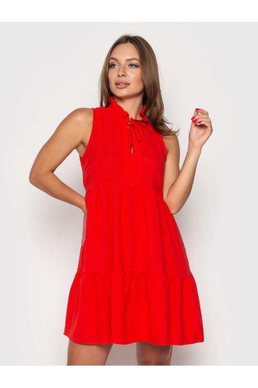 """Платье """"Ким"""" (ярко-красный)"""