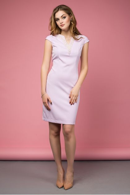 """Платье """"Калипсо"""" (сиренево-розовый)"""