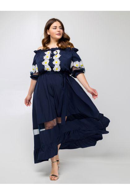 "Платье ""Ирида"" (темно-синий)"
