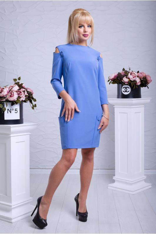 """Платье """"Ореанда"""" (васильковый)"""
