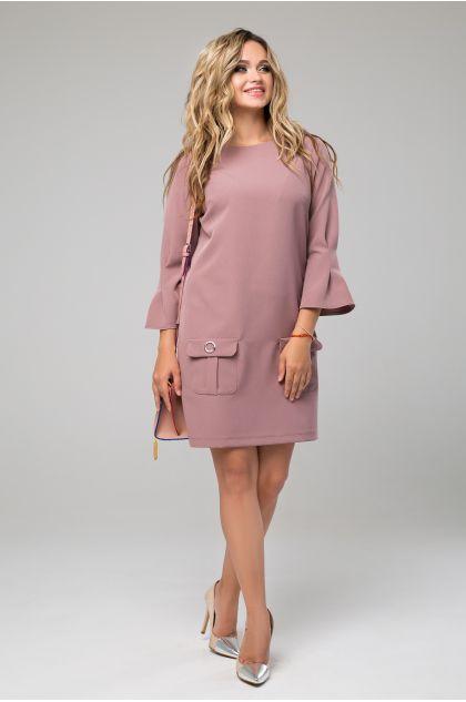 """Платье """"Рубьера"""" (светло-коричневый)"""