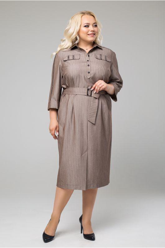 """Платье """"Никита"""" (бледно-коричневый)"""