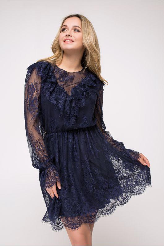 "Платье ""Кендал"" (темно-синий)"