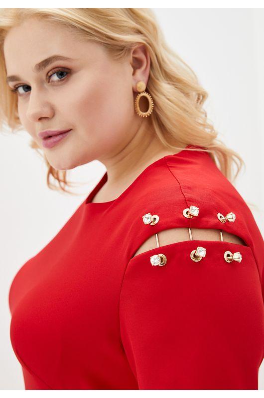 """Платье """"Орфея"""" (красный)"""