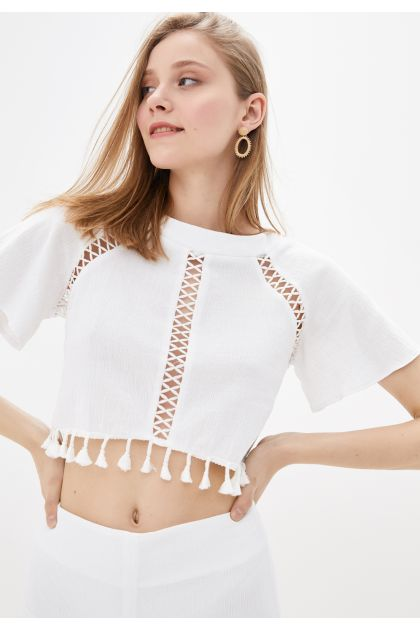 "Блуза ""Тесса"" (белый)"