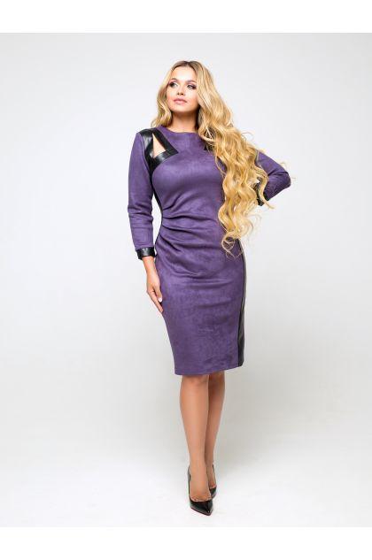 """Платье """"Соломия"""" (серо-фиолетовый)"""