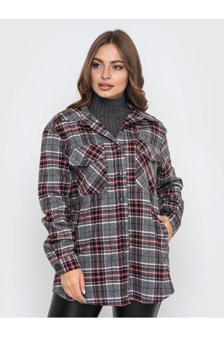 """Рубашка """"Сусана"""" (бордовый)"""
