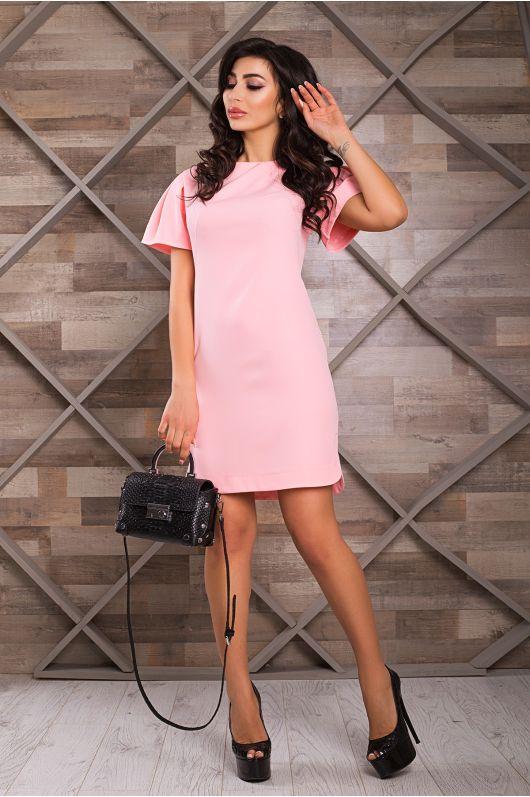 """Платье """"Каприз"""" (розовый)"""