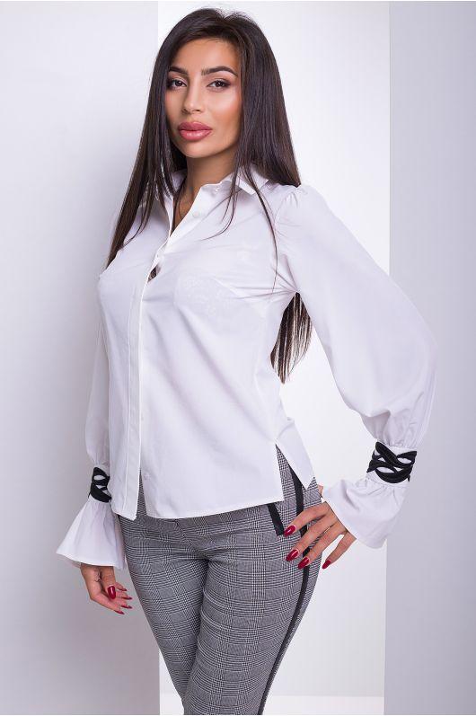 """Рубашка """"Аллегро"""" (белый)"""