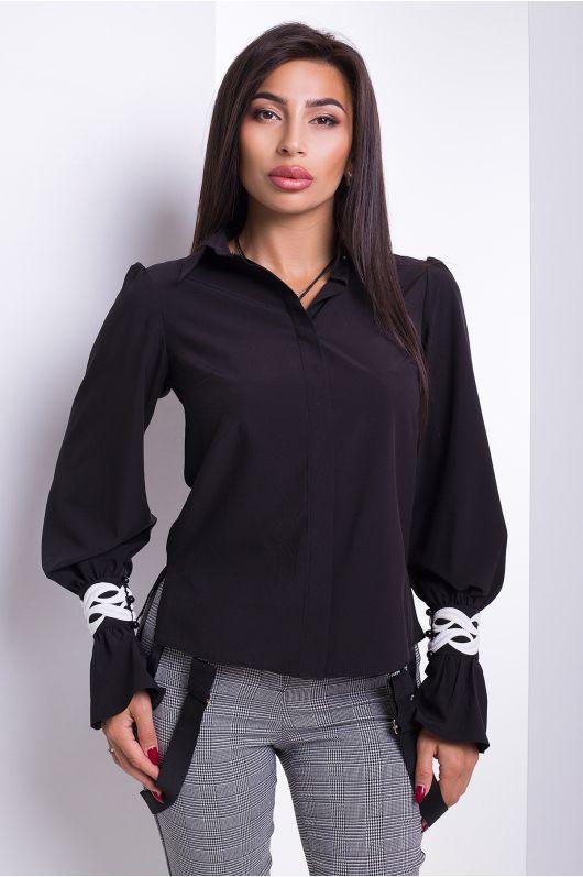 "Рубашка ""Аллегро"" (черный)"