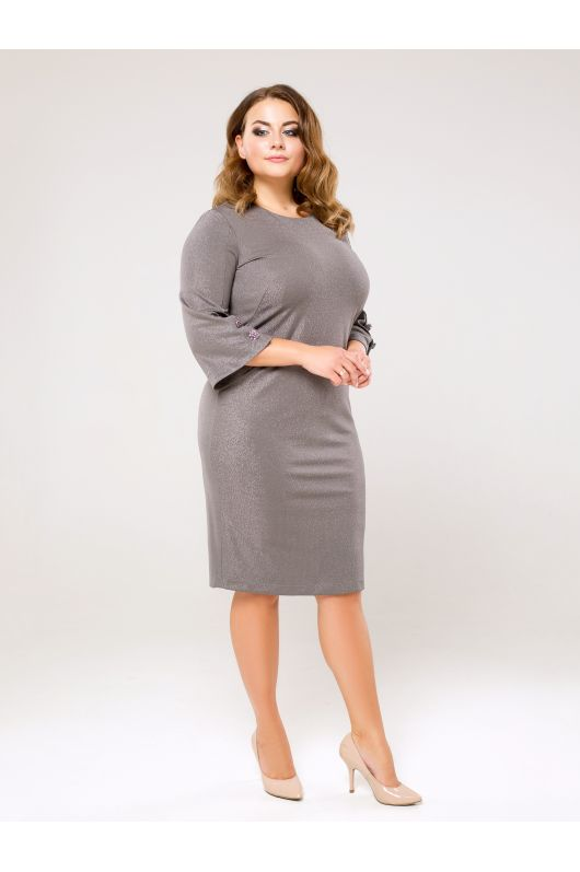 """Платье """"Зелмира"""" (серый)"""