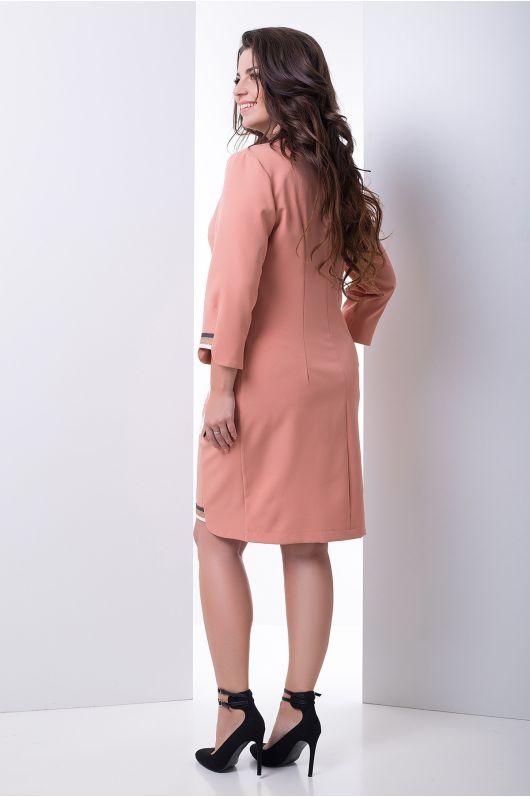 """Платье """"Клодия"""" (персик)"""