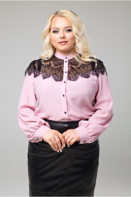 """Блуза """"Зефир"""" (розовый)"""