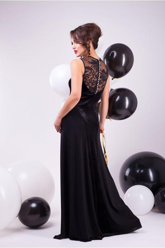 """Вечернее платье """"Аманда"""" (черный)"""