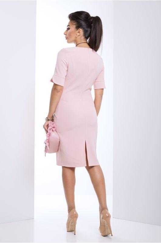 """Платье """"Регина"""" (розовый)"""