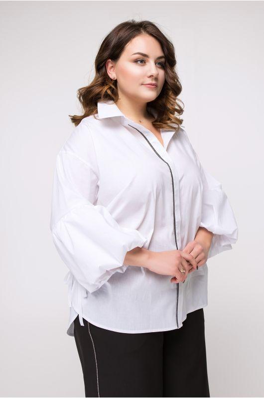 "Рубашка ""Ксения"" (белый)"