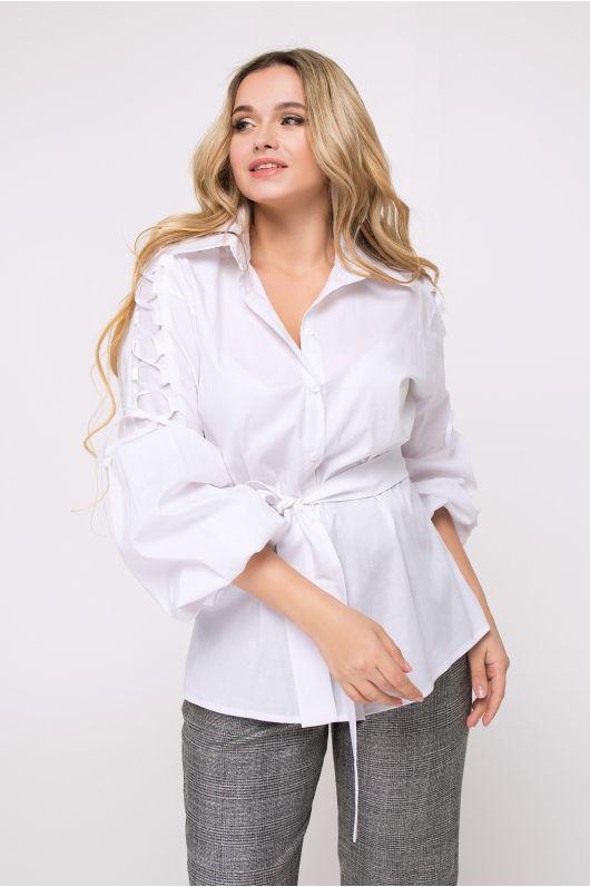 """Рубашка """"Крисана"""" (белый)"""