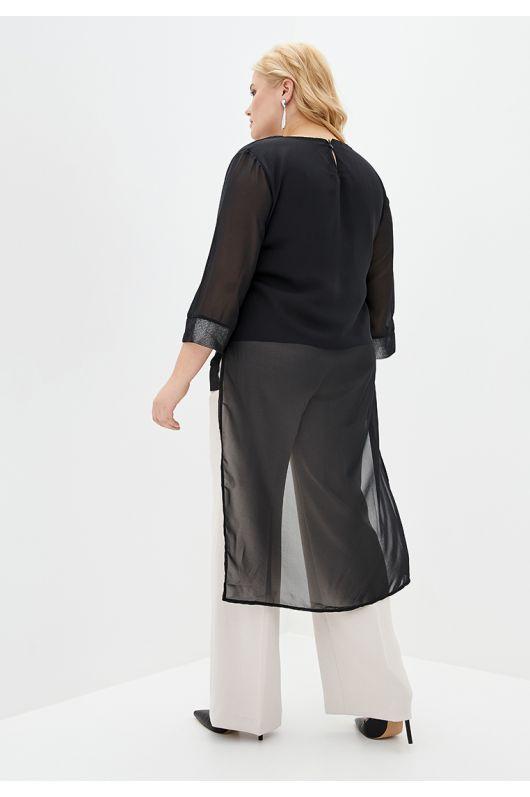 """Блуза """"Селфи"""" (черный)"""