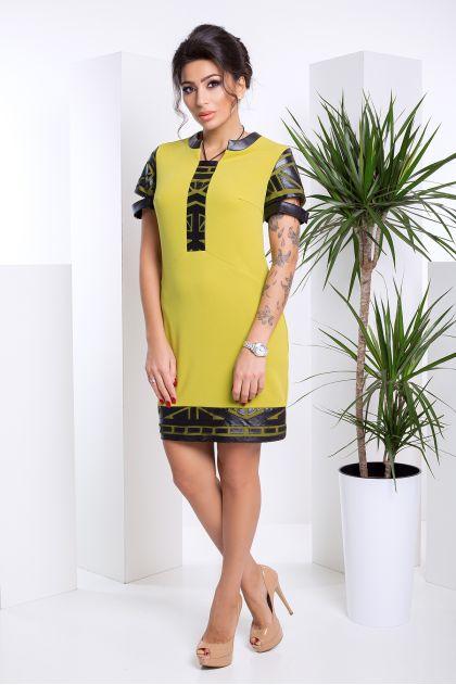 """Платье """"Фрида"""" (оливковый)"""
