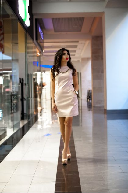 """Платье """"Ирма"""" (розовый)"""