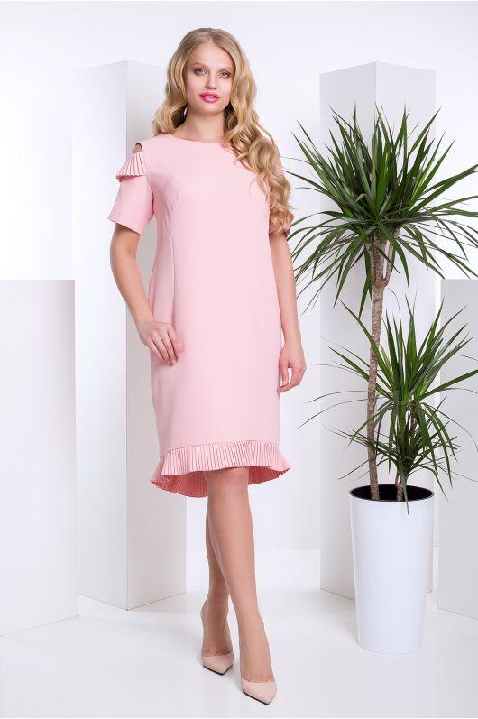 """Платье """"Лакрис"""" (св. розовый)"""
