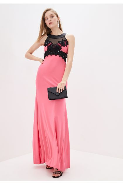 "Платье ""Кассандра"" -розовый (без шлейфа)"