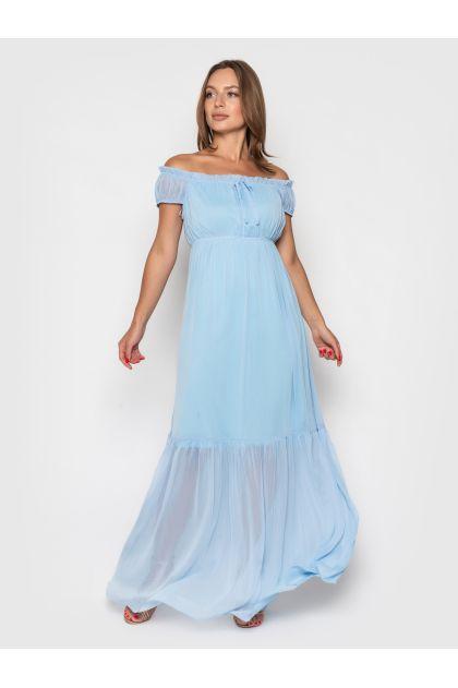 """Платье """"Агнесс"""" (голубой)"""