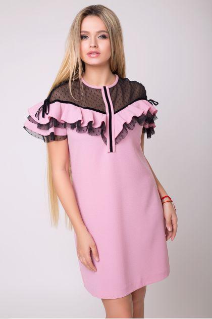 """Платье """"Лорена"""" (розовый)"""