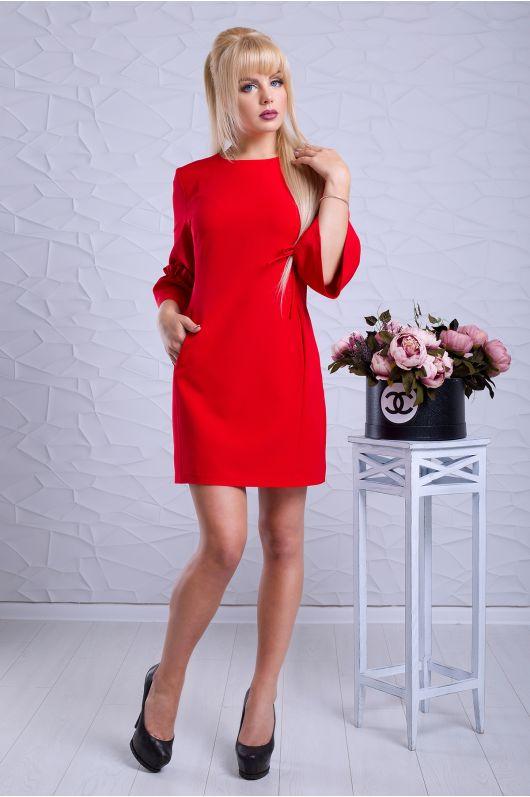 """Платье """"Скарлет"""" (красный)"""