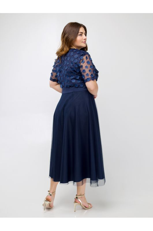 "Платье ""Меринда"" (темно-синий)"